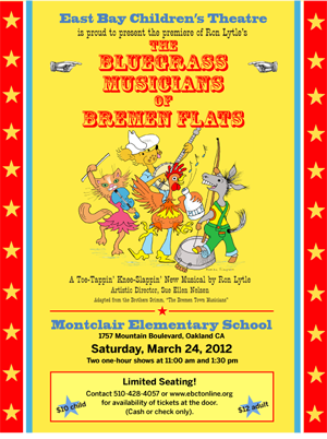 Info for the March 24th show, The Bluegrass Musicians of Bremen Flats