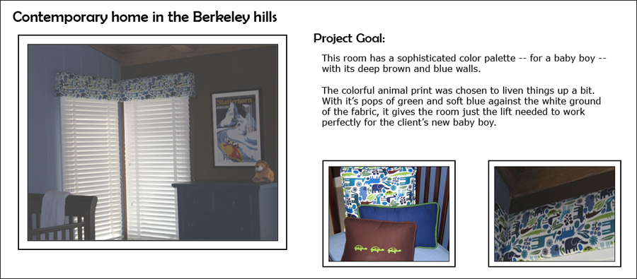 Contemporary Home in Berkeley Hills - Baby's Bedroom