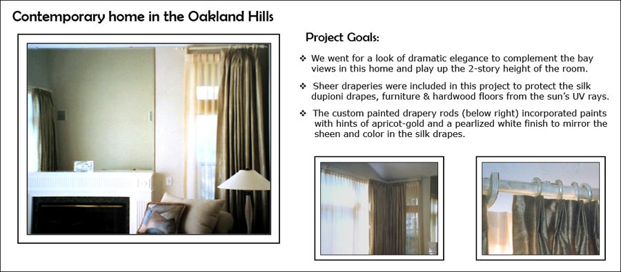 Contemporary Oakland Hills Home - Living Room