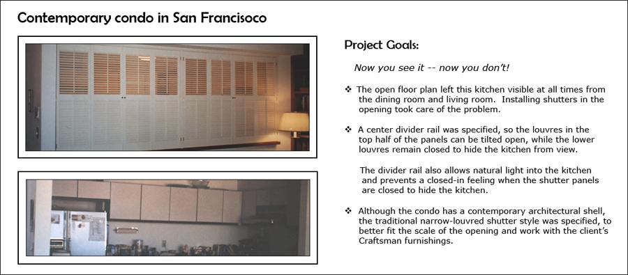 Contemporary Condo in San Francisco - Kitchen & LVR